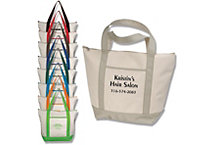 Carry All Shopping Tote Embroidered
