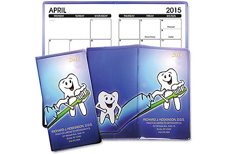 Dental 4 Clr Monthly Planner