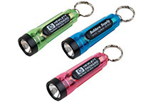 Hi-Tech Mini Flashlight W/Key Ring