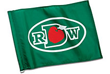 Golf Flag With 3 Grommets