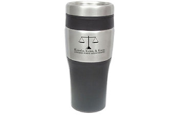 BLACK BOTTOM STAINLESS MUG