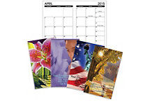 Full Color Monthly Pocket Calendar