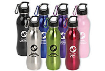 24 Oz. Stainless Fitness Bottle