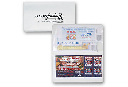 2 Pocket Coupon Holder