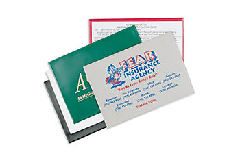 AUTO ID INSURANCE CARD HOLDER