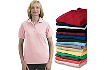 Womens 5 Oz Poly Cotton Pique Shirt