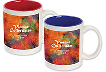 Custom Ceramic Color Accent Mug