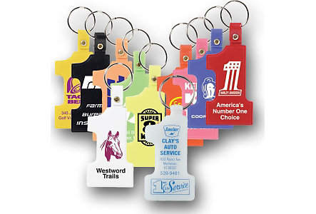 #1 Key Tag 2 Sided Printing
