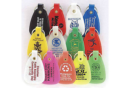Saddle Key Tag - 1 Side Imrprint