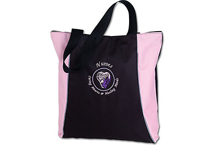 Nurses Pink Two Tone Tote