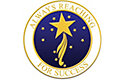 Always Rch For Success Lapel Pin
