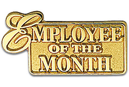Pin Goldtone Employee Of The M