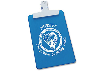 Nurses Blue Clipboard