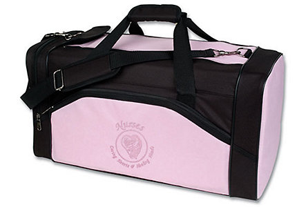 Nurses Pink Large Duffel Bag