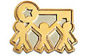 Team Key Lapel Pin