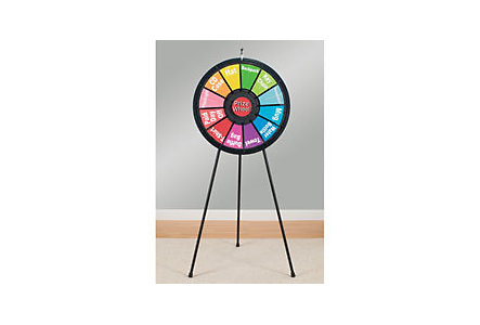 12 Slot Floor Stand Prize Wheel