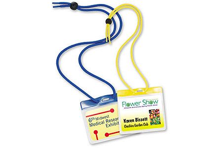 Large All-In-One Badge W/Cord