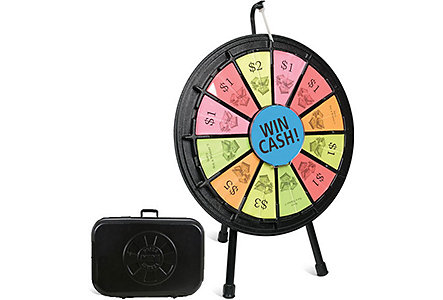 Mini Prize Wheel In Case