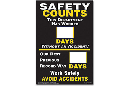 Days Without Accidents Post