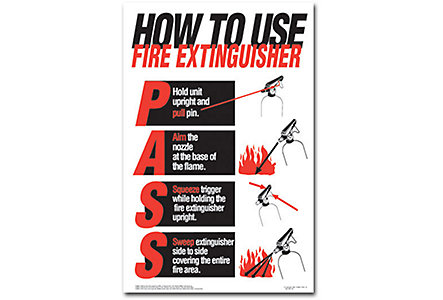 Fire Extinguisher Poster