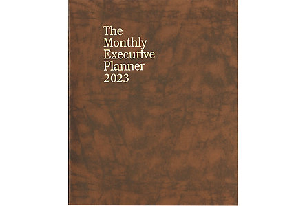 Budget Monthly Executive Planner