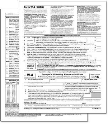 Irs 2014 w-4 form
