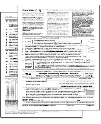 2014 W-4 Standard Form