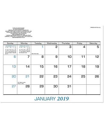 2 Color Doodle Pad Calendar Refill