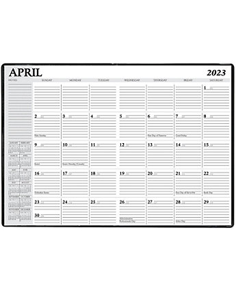 Deluxe Monthly Planner Refill