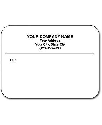 Matte Mail Labels Continuous