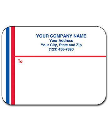 Matte Mail Labels 1 Up Flat
