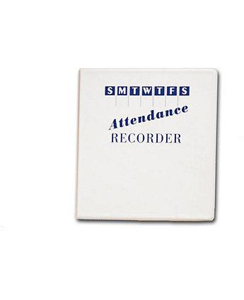 """2-1/4"""" Attendance Calendar Binder"""