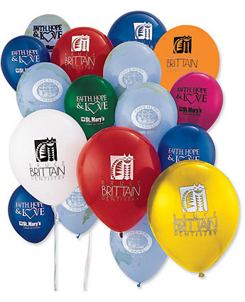 "9"" Round Balloons-Standard Colors"
