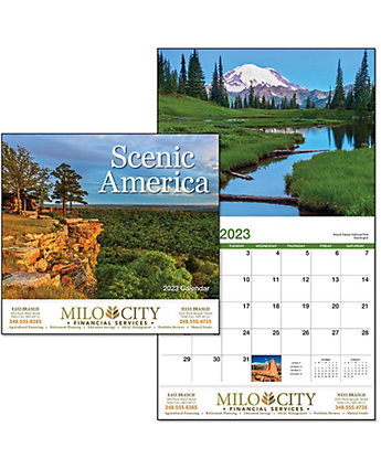Scenic America Wall Calendar