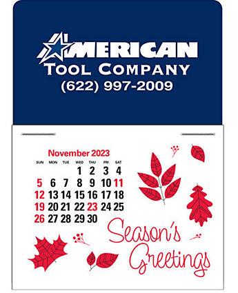 Traditional Press-N-Stick Calendar