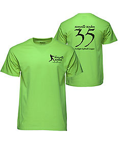 50/50 T-SHIRT COLORED SCREENED
