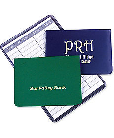 ATM CARD HOLDER/REGISTER