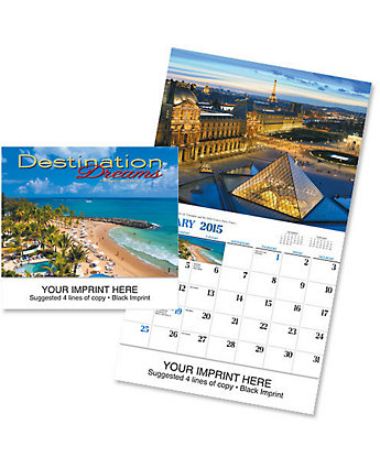 Destination Dreams Cal. - Spiral