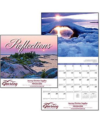 Reflections Wall Calendar Spiral