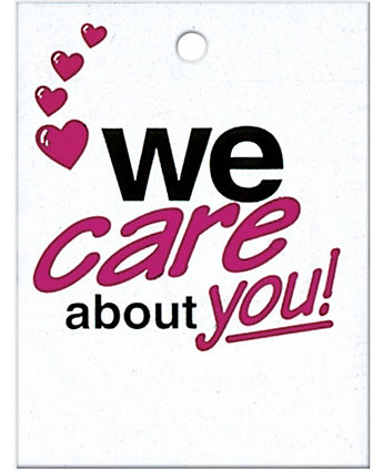 """We Care About You"" Litterbags"