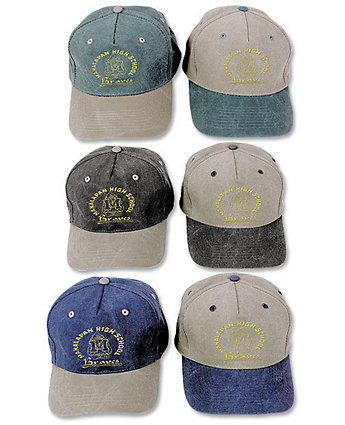 Cap Stonewashed Cotton Embroidered