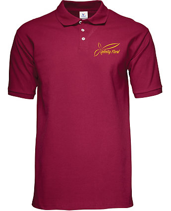 Screen printed polo shirt from amsterdam printing for Screen printing polo shirts