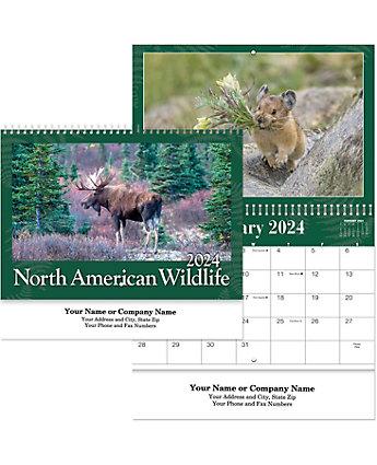North America Wildlife Calendar