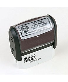 SELF-INKING STAMP 7/8 X 2 5/16""