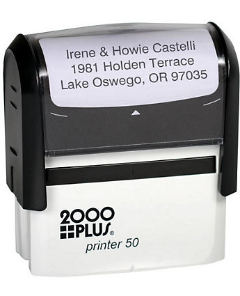 Self-Inking Stamp 1 1/8 X 2 11/16