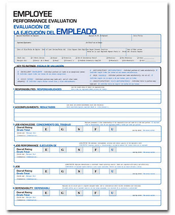 Employee Performance Eval-Bilingual
