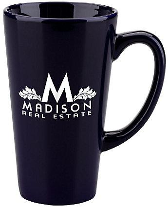 Cafe Mug 16 oz - 1 Color Imprint