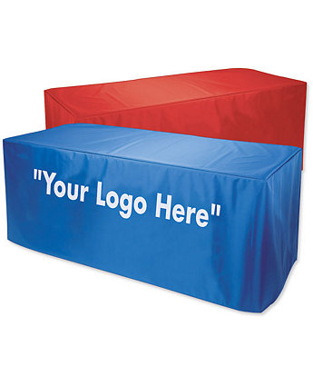 8'Nylon Table Cover 2 Col Imprint