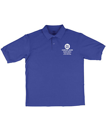 Cotton Pique Polo Embroidered