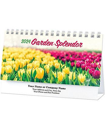 Garden Splendor Desk Calendar